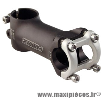 Potence route/VTT ahead set 1 pouce 1/8 l110 alu noir 10° 160 grammes (cintre 25.4) marque Zoom - Pièce Vélo