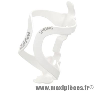 Porte bidon spring blanc monocoque marque Zéfal - Matériel pour Cycle