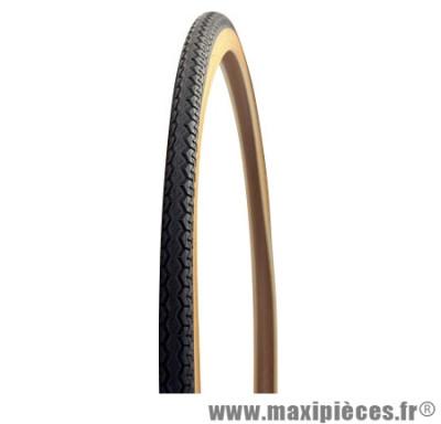 Pneu pour vélo tradi 650x35a worldtour gw tr beige/noir (26x1 3/8 - 37-590) marque Michelin - Pièce Vélo