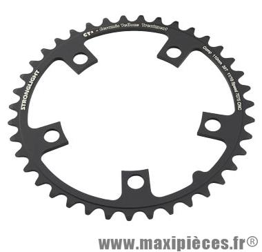 Plateau 39 dents route diamètre 110 intérieur noir ct2 téflon ceramic 11/10v. marque Stronglight - Pièce Vélo