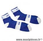 Socquette coolmax bleu/blanche 40/43 (paire) marque GIST - Casque Vélo pour cycliste