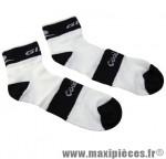 Socquette coolmax blanche/noire 36/39 (paire) marque GIST - Casque Vélo pour cycliste