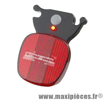Eclairage vélo arrière Herrmans H-Rail 1 led (blister) fix. chariot de selle marque *Prix spécial !