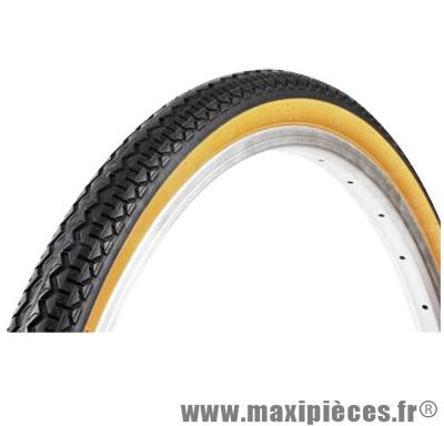 Pneu de vélo pour VTC 700x35 tr worldtour noir/beige (35-622) marque Michelin - Pièce Vélo