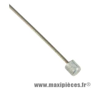 Cable dérailleur inox 3.00m tandem (vendu a l'unité) brochable marque Shimano - Matériel pour Vélo
