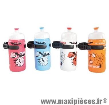 Bidon enfant little z 350ml avant clip fixation coloris assorti pièce marque Zéfal - Matériel pour Cycle