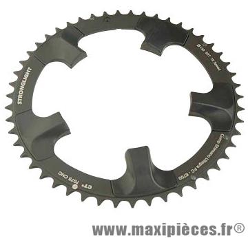 Plateau 50 dents route diamètre 130 extérieur noir ct2 ultegra 6700 téflon ceramic 10v. marque Stronglight - Pièce Vélo
