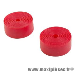 Bande anti-crevaison VTC 700 largeur 25mm rouge (kit de 2) - Accessoire Vélo Pas Cher