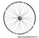 Roue vélo fixie 700 noir arrière omega - Accessoire Vélo Pas Cher