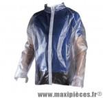Imperméable translucide pvc (taille XL) - Accessoire Vélo Pas Cher