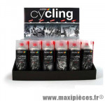 Display cycling x24 aérosol 400ml complet marque Motip - Entretien Vélo