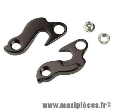Patte dérailleur alu adaptable cadre scott/orbea/mbk/sunn/cube/bmc/canyon/look - Accessoire Vélo Pas Cher