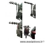 Porte vélo sur attelage arezzo inclinable acier 3 vélos marque Peruzzo - Accessoire Vélo