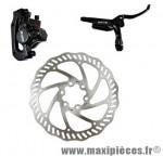 Frein disque arrière hydro draco noir durite 1450 mm avec disque 160mm postmount - Accessoire Vélo Pas Cher