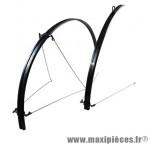 Garde boue route 700 slimywheel noir fixation tringles (paire) marque Sunn - Matériel pour Cycle