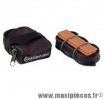 Sacoche selle + kit réparation (1 chambre a air 52mm 700x2emontes pneu) marque Continental - Accessoire Vélo