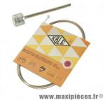 Cable dérailleur inox type shimano 2.00 m (vendu par boite de 25)/t marque KBLE - Pièce Vélo