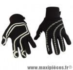 Gant hiver race (taille XL) noir (paire) marque No Contest - Accessoire Vélo