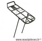 Porte bagage avt/ar athlète 2b 26/28 pouces alu noir (10kgs) marque Pletscher - Accessoire Vélo