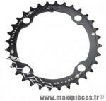 Plateau 32 dents VTT triple diamètre 104 interm noir 9/10v marque Miche - Pièce Vélo
