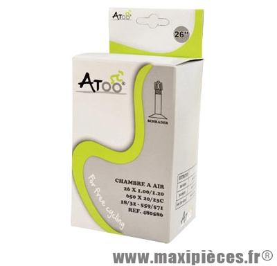 Chambre à air de VTT 26x1.00 vs marque Atoo - Matériel pour Vélo