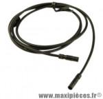 Cable électrique di2 ultegra noir 1000 mm marque Shimano - Matériel pour Vélo