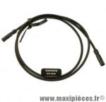 Cable électrique di2 ultegra noir 600 mm marque Shimano - Matériel pour Vélo