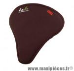 Couvre selle gel noir large marque Atoo - Matériel pour Vélo