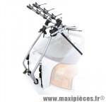 Porte vélo 6 sangles milano acier 3 velos marque Peruzzo - Accessoire Vélo