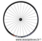 Roue route 700 avant versus noir profil 30 mm mx reflex noir marque Miche - Pièce Vélo