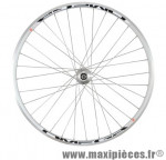 Roue vélo fixie 700 argent avant omega moyeu primato pista (roue arrière 481397) marque Miche - Pièce Vélo