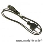 Cable pour chargeur batterie di2 ultegra noir 220 v marque Shimano - Matériel pour Vélo