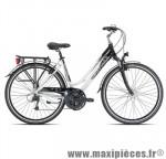 Vélo VTC trekking c416 dame hamal blanc/noir t48 alu alivio m marque Carratt - VTC complet