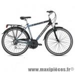Vélo VTC trekking c425 homme dened noir/gris t48 alu acera moy marque Carratt - VTC complet