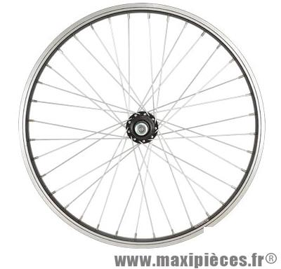 Roue vélo BMX 20 pouces arrière axe 9.5 mm tout alu moyeu acier 36t - Accessoire Vélo Pas Cher