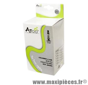 Chambre à air de route 700x20/23 vp valve 80mm marque Atoo - Matériel pour Vélo