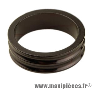 Entretoise ahead-set 1 pouce 1/8 10mm alu noire 28.6 mm ext. - Accessoire Vélo Pas Cher