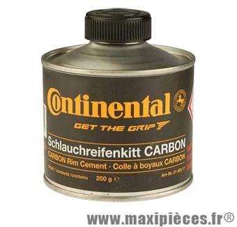 Colle boyau spéciale jantes carbone (pot 200g) marque Continental - Accessoire Vélo