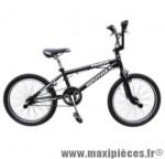 Vélo BMX c910f freestyle 20 pouces noir marque Carratt - BMX complet
