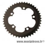 Plateau 44 dents BMX d110 noir 5 branches alu 4mm marque Truvativ - Pièce Vélo