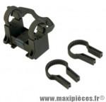 Fixation support panier avant sur cintre (fixation rapide mts) - Accessoire Vélo Pas Cher