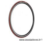 Pneu pour vélo de route 700x23 ts equinox 2 noir/rouge (23-622) marque Hutchinson