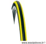 Pneu pour vélo de route 700x23 ts equinox 2 noir/jaune (23-622) marque Hutchinson