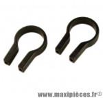 Collier guidon fixation sacoche de guidon d31.8 (paire) marque Klickfix - Accessoire Vélo