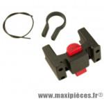 Fixation avant panier/sacoche diamètre cintre 22-26 mm marque Klickfix - Accessoire Vélo