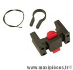 Fixation avant panier/sacoche diamètre cintre oversize 31.8 mm marque Klickfix - Accessoire Vélo