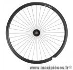 Roue vélo fixie 700 noir avant axe plein moyeu noir 36 (taille M)arque - Accessoire Vélo Pas Cher