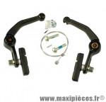 Etrier de frein BMX av/ar u brake noir vendu avec cable liaison (x1) - Accessoire Vélo Pas Cher