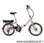 Vélo électrique pliant 20'' lybra folding 10ah 24v gris marque Torpado - Pièce Vélo - Vélo Electrique complet