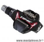 Pédale VTT auto atac xc8 carbone noire 284 grammes cross country (paire) marque Time - Pièce Vélo